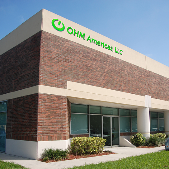 OHM Power Solutions manufacturing facility